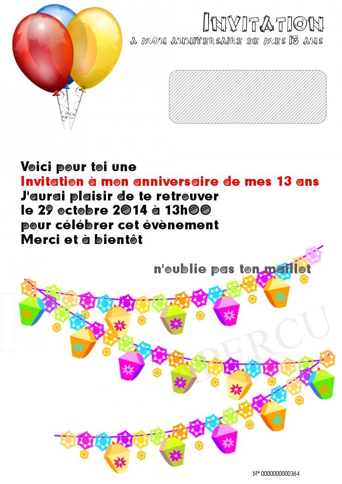 Invitation-a-mon-anniversaire-de-mes-13-ans