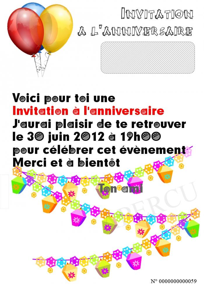 Invitation a l anniversaire - Salon de l agriculture invitation gratuite ...